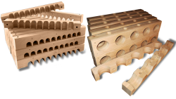 AB Creation - CNC - Block de serrage pour cable Silicium Quebec - Trois-Rivieres - Quebec