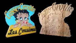 AB Creation - CNC - Casse-Croute les Cousines - Trois-Rivieres - Quebec
