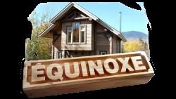 AB Creation - CNC - Chalet equinoxe - enseigne en bois - Trois-rivieres - Lac Megantic - Quebec