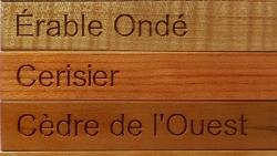 AB Creation - CNC - Echantilon de bois - Trois-Rivieres - Quebec