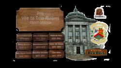 AB Creation - CNC - Plaque graver - Seminaire St-Joseph - Trois-Rivieres - Bro-bois - Quebec