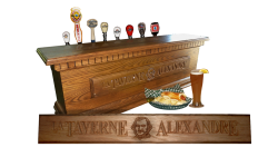 AB Creation - CNC - Taverne_alexandre - Trois-Rivieres - Sherbrooke - Quebec