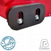 AB Creation - TOR-001 - Patins à neige TORO souffleuse - Skid shoes for TORO snow blowers - Quebec - Canada