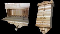 AB Creation - CNC - boite aus lettres en credre - Trois-Rivieres - Quebec