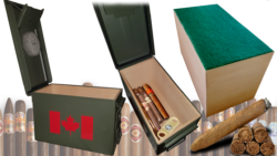 @ AB Creation - CNC - Boite pour cigare - Humidor Cigar case - Trois-Rivieres - Quebec 2018