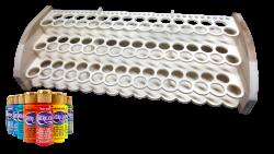 AB Creation - CNC - Support - Rangement - Storage - pour peinture Acrylique - Acrylic paint Americana - Decoart - Québec 2