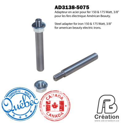 AB Creation - American Beauty - 150W & 175W- 3138-5075 - AB Creation - Québec - Fer à marquer - Soldering Iron