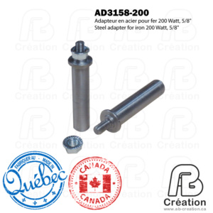 American Beauty - 200W - AD3158-200 - AB Creation - Québec - Fer à marquer - Soldering Iron - 2M