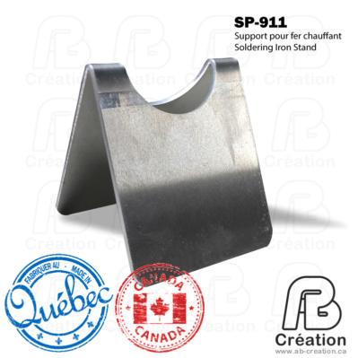 SP-911 - AB Creation - Trois-Rivières - Québec - Canada - Support de fer à marquer - Soldering Iron Stand