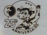 AB Création - Agricole 25e anniversaire - fer a marquer - Québec - Canada