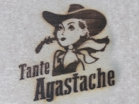 AB Création - Tante Agastache - fer a marquer - Québec - Canada